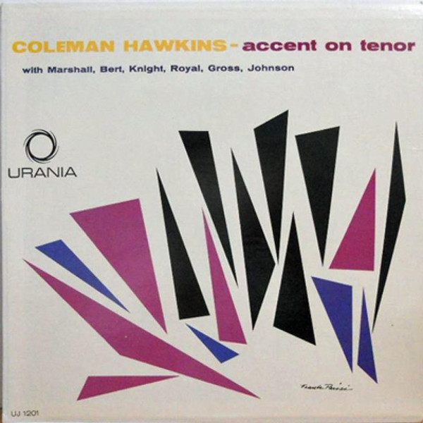 COLEMAN HAWKINS - Accent on Tenor Sax cover