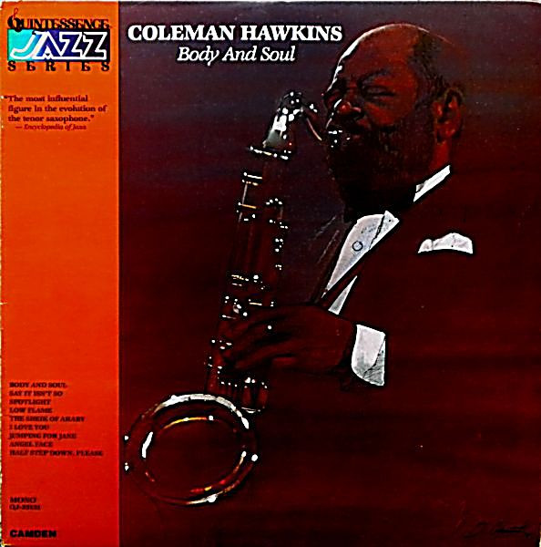 COLEMAN HAWKINS - Body And Soul cover