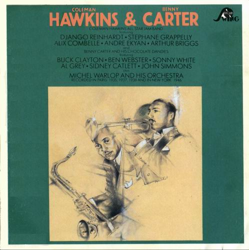 COLEMAN HAWKINS - Coleman Hawkins and Benny Carter cover