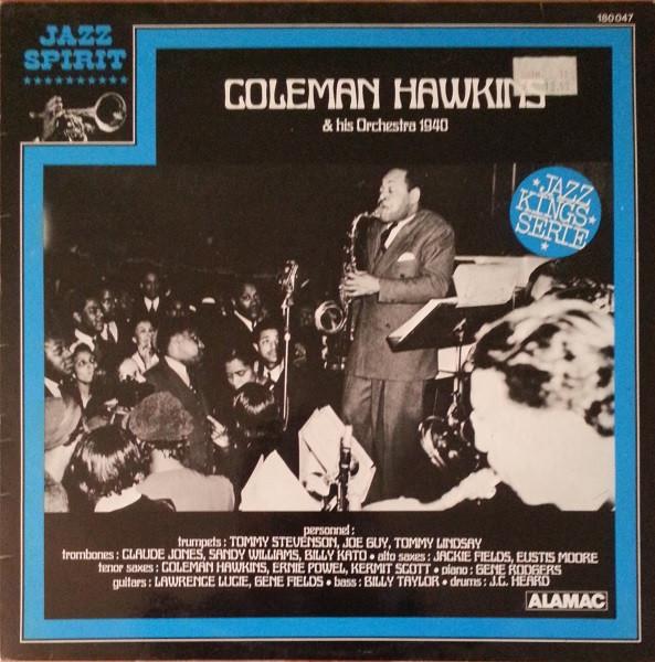 COLEMAN HAWKINS - Coleman Hawkins & His Orchestra 1940 cover