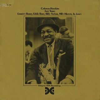 COLEMAN HAWKINS - Jazz Tones cover