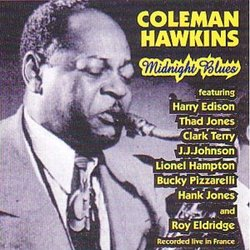 COLEMAN HAWKINS - Midnight Blues cover