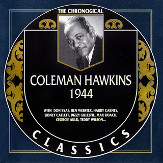 COLEMAN HAWKINS - The Chronological Classics: Coleman Hawkins 1944 cover
