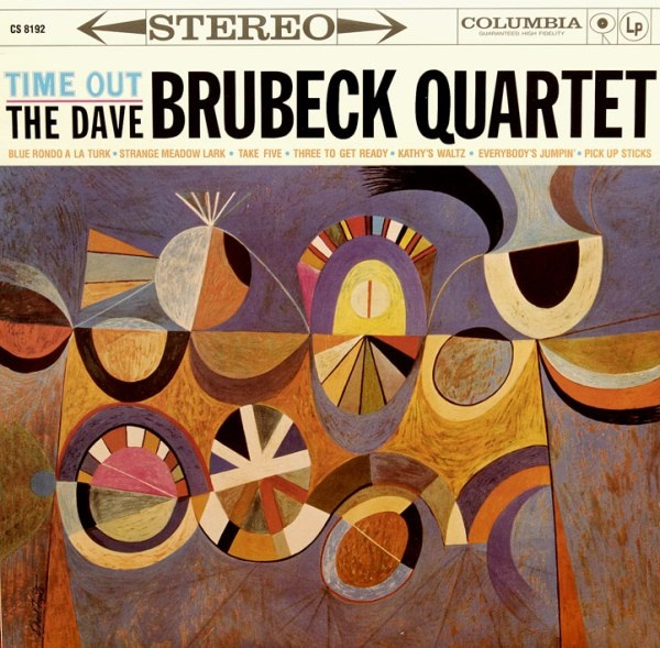 DAVE BRUBECK - Time Out cover