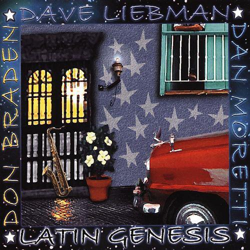 DAVE LIEBMAN - Latin Genesis cover