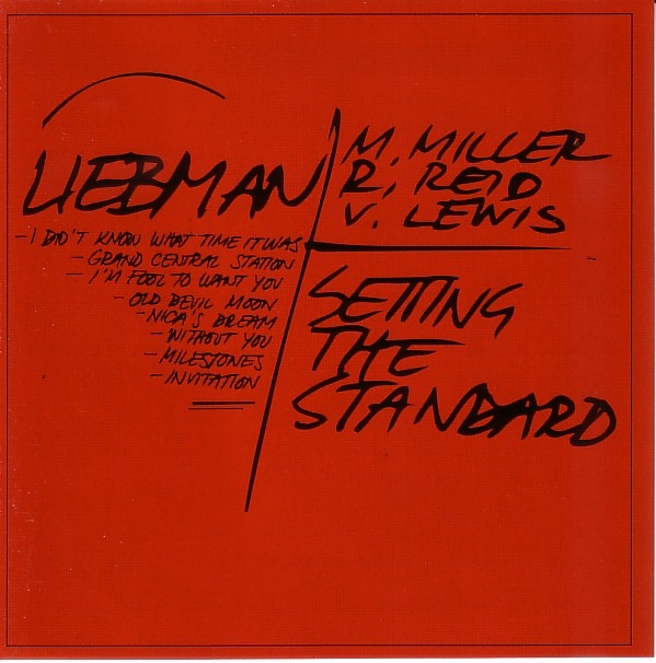 DAVE LIEBMAN - Setting the Standard cover