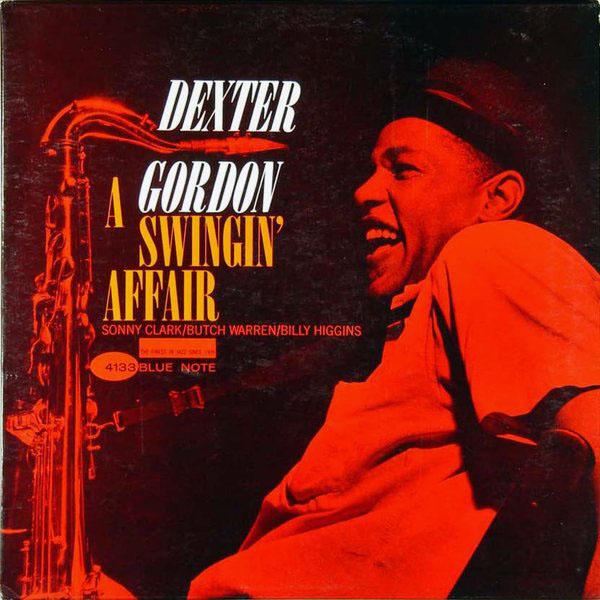 DEXTER GORDON - A Swingin' Affair cover