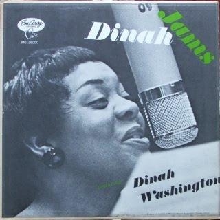 DINAH WASHINGTON - Dinah Jams cover