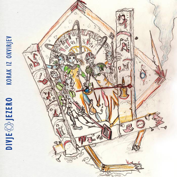 DIVJE JEZERO - Korak iz okvirjev cover