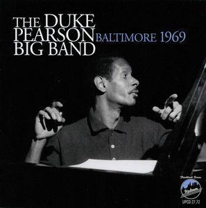 DUKE PEARSON - Baltimore 1969 cover
