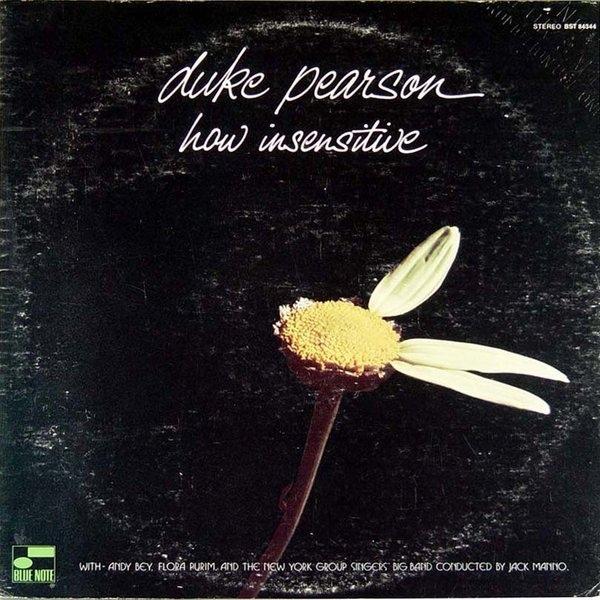 DUKE PEARSON - How Insensitive cover