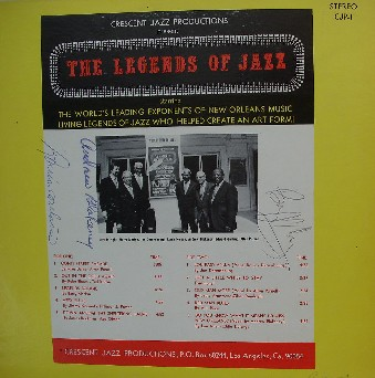 ED GARLAND - The Legends Of Jazz cover