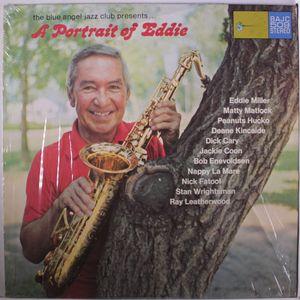 EDDIE MILLER - The Blue Angel Jazz Club Presents ... A Portrait Of Eddie cover