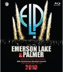 EMERSON LAKE AND PALMER - 40th Anniversary Reunion Concert cover