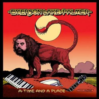 EMERSON LAKE AND PALMER - A Time And A Place cover