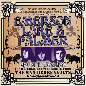 EMERSON LAKE AND PALMER - Best Of The Bootlegs cover