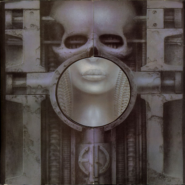 EMERSON LAKE AND PALMER - Brain Salad Surgery cover
