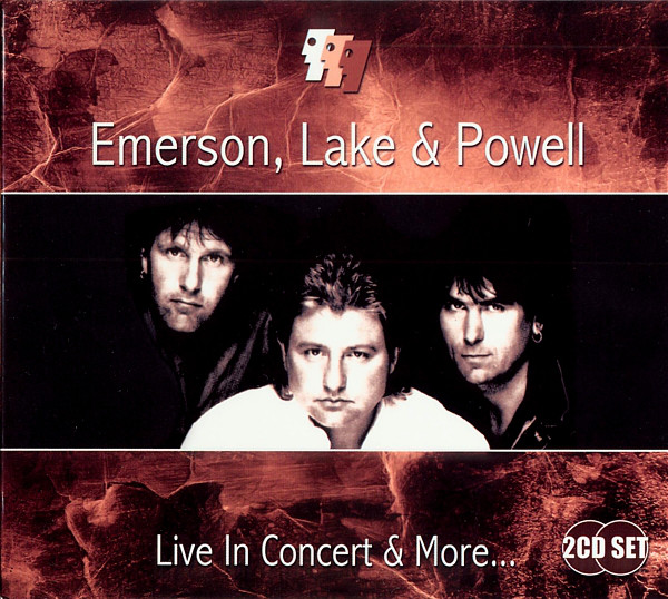 EMERSON LAKE AND PALMER - Emerson, Lake & Powell : Live In Concert & More... cover