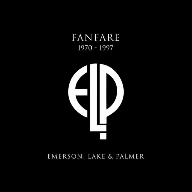 EMERSON LAKE AND PALMER - Fanfare 1970-1997 cover