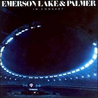 EMERSON LAKE AND PALMER - In Concert cover