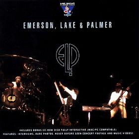 EMERSON LAKE AND PALMER - King Biscuit Flower Hour cover