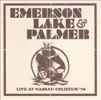 EMERSON LAKE AND PALMER - Live At Nassau Coliseum '78 cover
