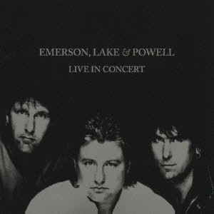 EMERSON LAKE AND PALMER - Emerson, Lake & Powell : Live In Concert cover