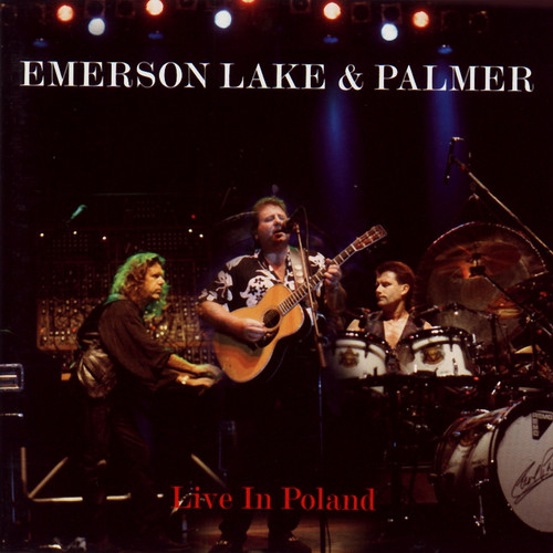 EMERSON LAKE AND PALMER - Live In Poland cover