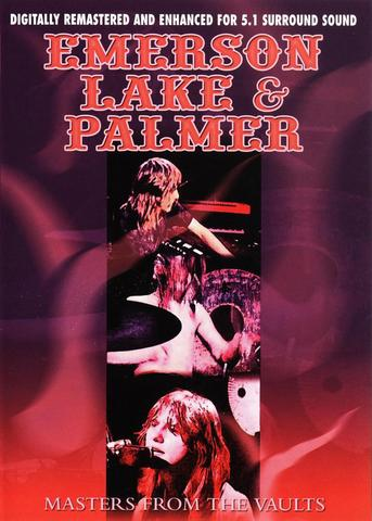 EMERSON LAKE AND PALMER - Masters From The Vaults cover