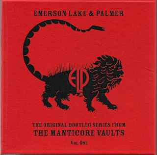 EMERSON LAKE AND PALMER - Original Bootleg Series From The Manticore Vaults Vol. One cover