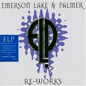 EMERSON LAKE AND PALMER - Re-works cover