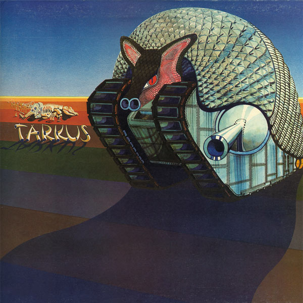 EMERSON LAKE AND PALMER - Tarkus cover