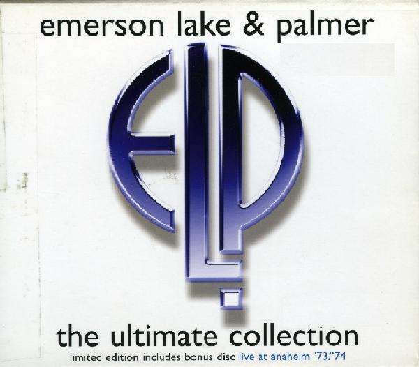 EMERSON LAKE AND PALMER - The Ultimate Collection cover
