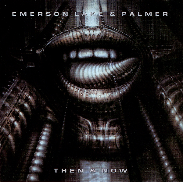 EMERSON LAKE AND PALMER - Then & Now cover