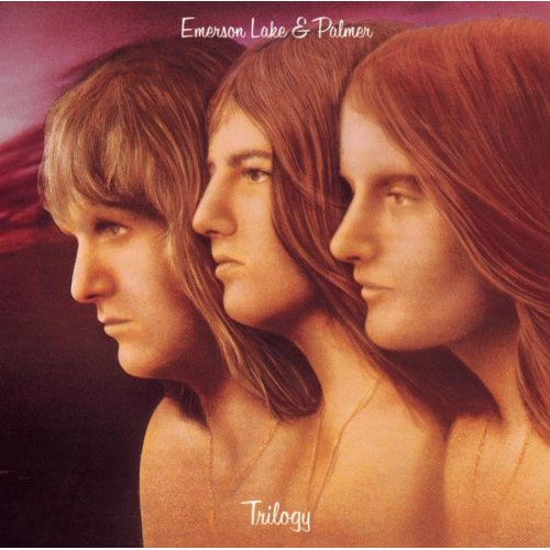 EMERSON LAKE AND PALMER - Trilogy cover