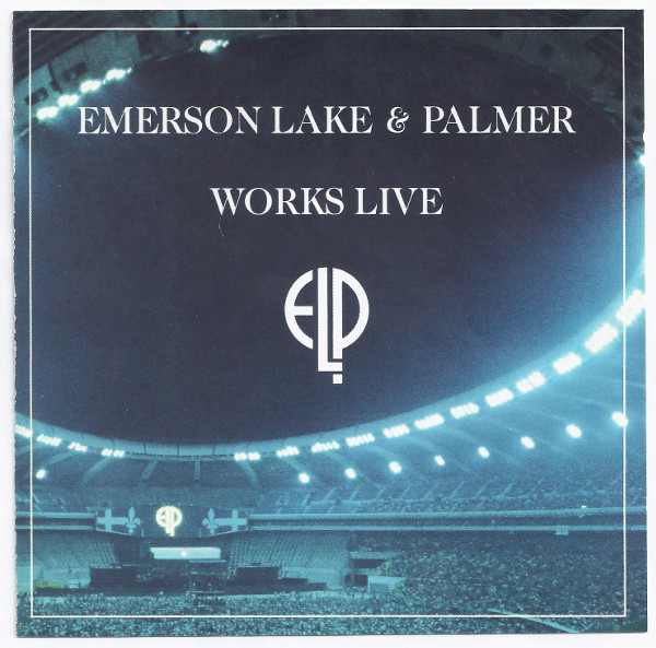 EMERSON LAKE AND PALMER - Works Live cover
