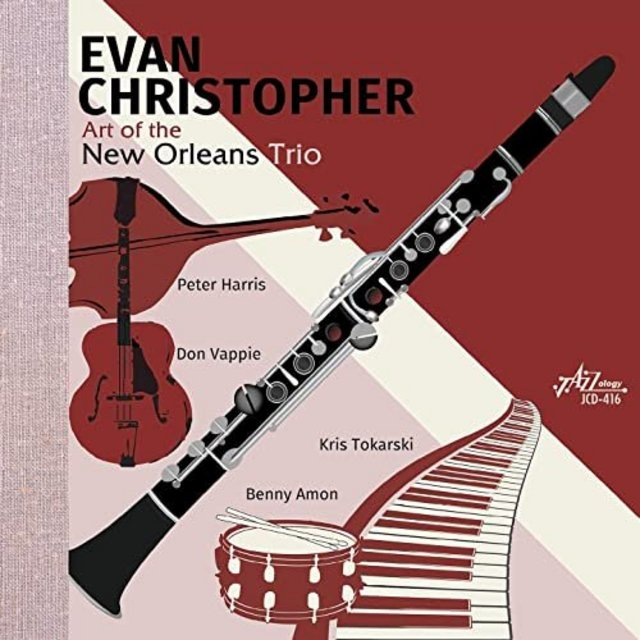 EVAN CHRISTOPHER - The Art of the New Orleans Trio cover