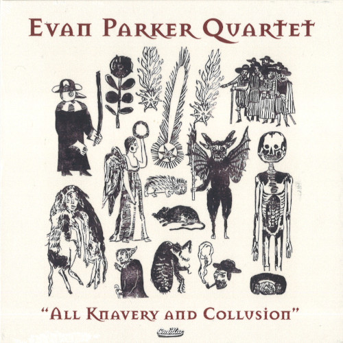 EVAN PARKER - All Knavery & Collusion cover