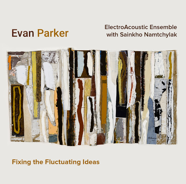 EVAN PARKER - Evan Parker's Electroacoustic Ensemble with Sainkho Namtchylak : Fixing the Fluctuating Ideas cover