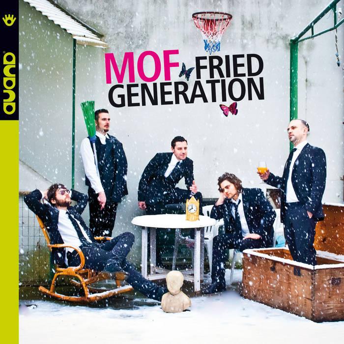 FRANK MARTINO - MOF : Fried Generation cover