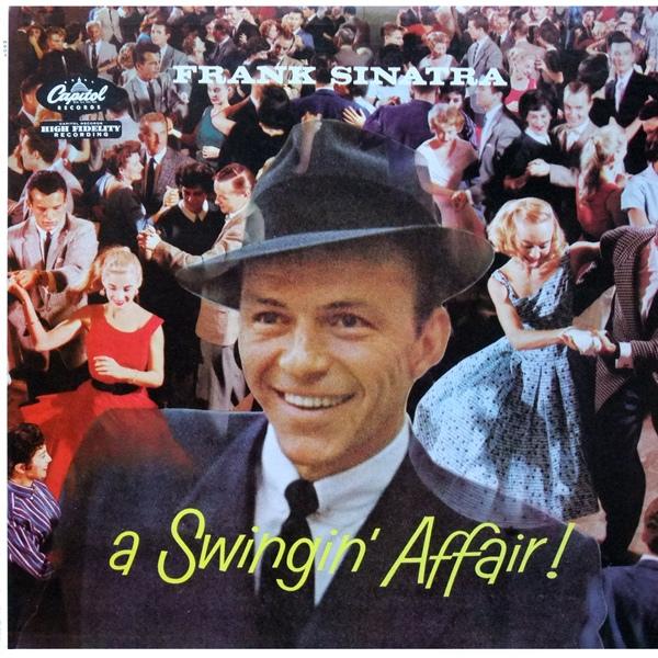 FRANK SINATRA - A Swingin' Affair! cover