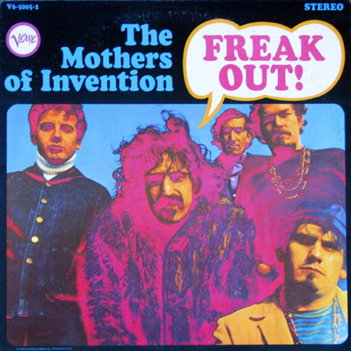FRANK ZAPPA - Freak Out! (The Mothers Of Invention) cover