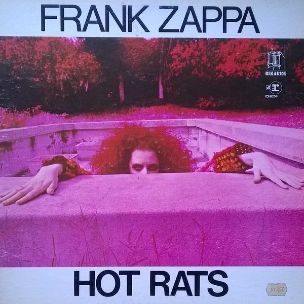 FRANK ZAPPA - Hot Rats cover