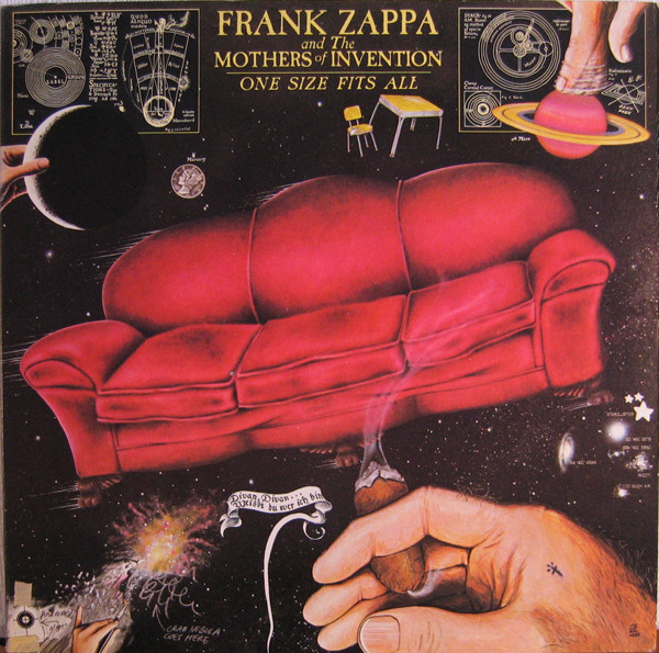 FRANK ZAPPA - One Size Fits All (as Frank Zappa And The Mothers Of Invention) cover