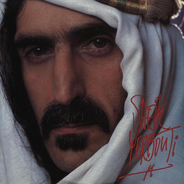 FRANK ZAPPA - Sheik Yerbouti cover