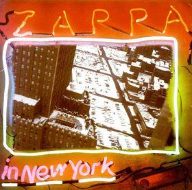 FRANK ZAPPA - Zappa in New York cover