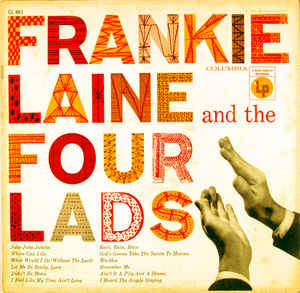 FRANKIE LAINE - Frankie Laine And The Four Lads cover