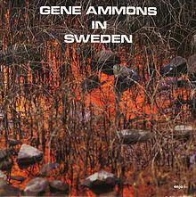 GENE AMMONS - In Sweden cover