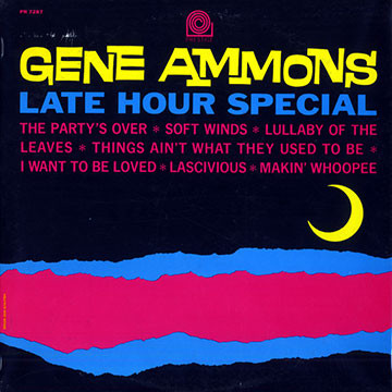 GENE AMMONS - Late Hour Special cover