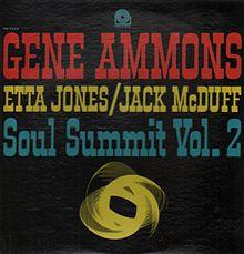 GENE AMMONS - Soul Summit Vol. 2 cover
